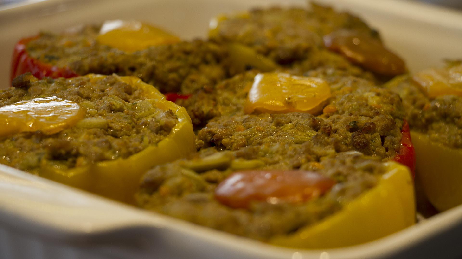 pranzo-peperoni ripieni-semaforo rosso